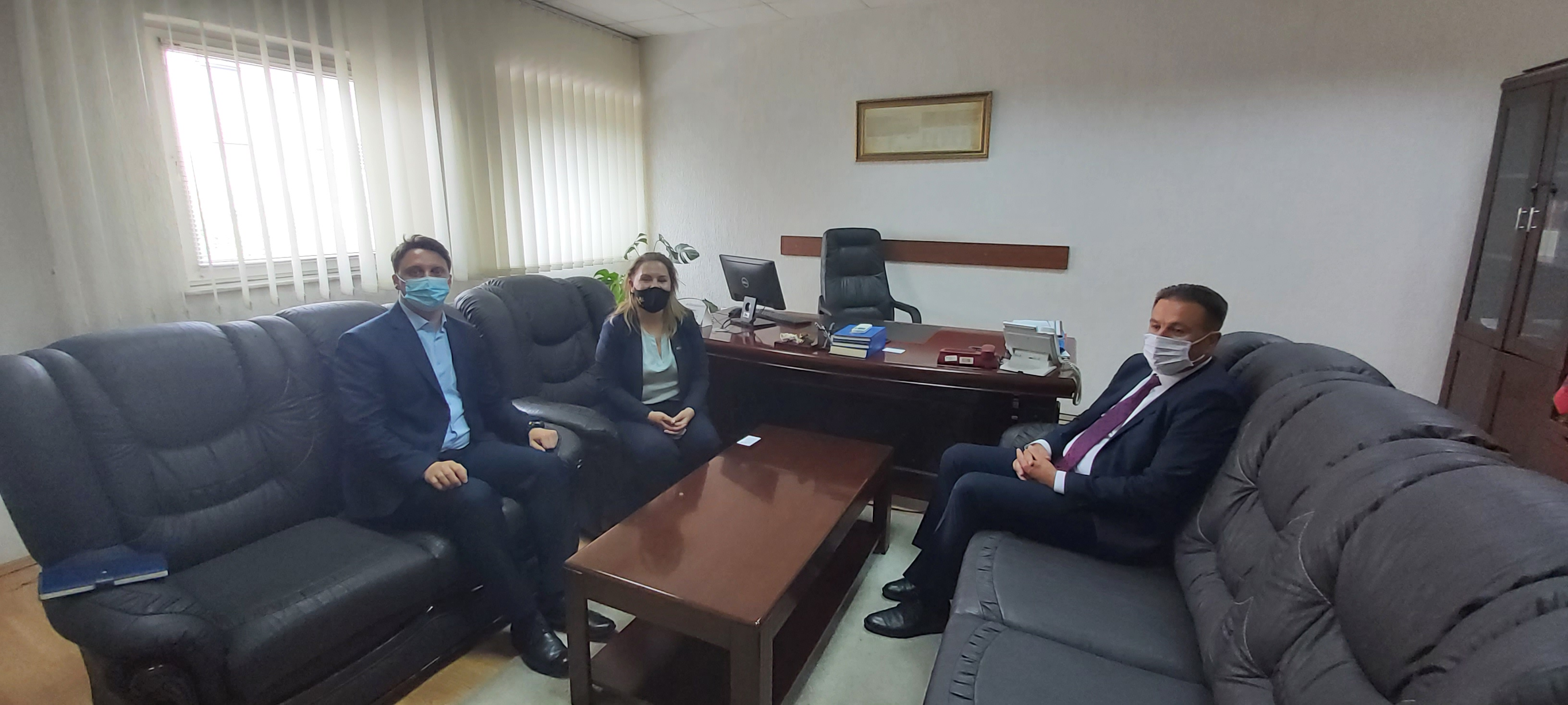 Përfaqësues të Ambasadës Britanike në Prishtinë, vizituan Gjykatën Themelore në Gjakovë